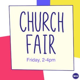 Welcome Week 2020: Church Fair