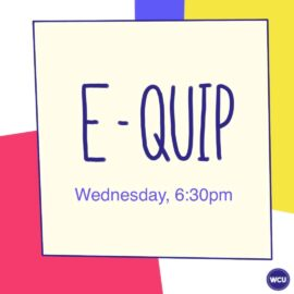 Welcome Week 2020: Equip