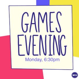 Welcome Week 2020: Virtually a games evening