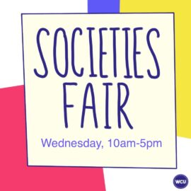 Welcome Week 2020: Societies Fair