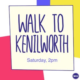 Welcome Week 2020: Walk to Kenilworth